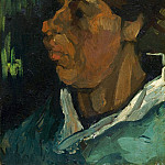 Édouard Manet - Head of a Peasant Woman with Cap