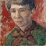 Female Head, Vincent van Gogh