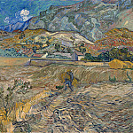 Landscape at Saint-Remy, Vincent van Gogh