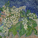 Blossoming Chestnut Branches, Vincent van Gogh