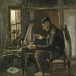 Man Winding Yarn, Vincent van Gogh