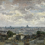 View of Paris, Vincent van Gogh
