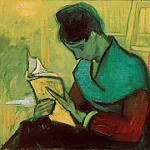 The Novel Reader, Vincent van Gogh