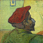 Vincent van Gogh - Paul Gauguin (Man in a Red Beret)