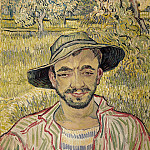 Portrait of a Young Peasant, Vincent van Gogh