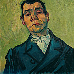 Vincent van Gogh - Portrait of Joseph-Michel Ginoux
