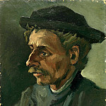 Head of a Man, Vincent van Gogh