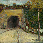 Roadway with Underpass, Vincent van Gogh