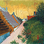 Street in Saintes-Maries, Vincent van Gogh