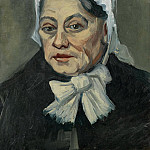 Portrait of an Old Woman, Vincent van Gogh