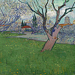 View of Arles with Trees in Blossom, Vincent van Gogh