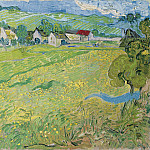 View of Vessenots near Auvers, Vincent van Gogh