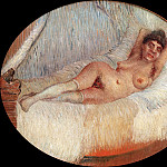 Nude Woman on a Bed, Vincent van Gogh