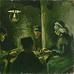 Vincent van Gogh - The Potato Eaters (Study)