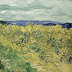 Wheat Field with Cornflowers, Vincent van Gogh