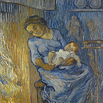 Vincent van Gogh - The Man is at Sea (after Demont-Breton)