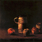 Still Life with Beer Mug and Fruit, Vincent van Gogh
