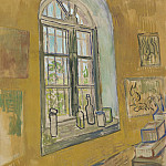 Window in the Studio, Vincent van Gogh