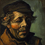 Head of a Peasant with Cap, Vincent van Gogh