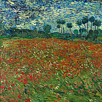 Field with Poppies, Vincent van Gogh