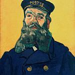 Portrait of the Postman Joseph Roulin, Vincent van Gogh