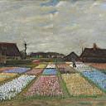 Flower Beds in Holland, Vincent van Gogh