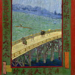 Vincent van Gogh - Bridge in the Rain (after Hiroshige)