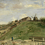 The Hill of Montmartre with Stone Quarry, Vincent van Gogh