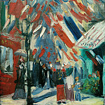 Vincent van Gogh - The Fourteenth of July Celebration in Paris
