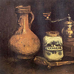 Vincent van Gogh - Still Life with Coffee Mill, Pipe and Jug