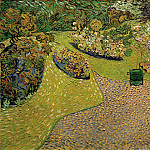 Garden in Auvers, Vincent van Gogh