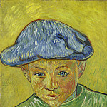 Portrait of Camille Roulin, Vincent van Gogh