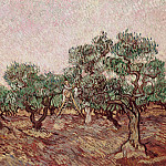 Olive Picking, Vincent van Gogh