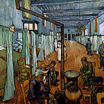 Ward in the Hospital in Arles, Vincent van Gogh