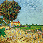 A Lane near Arles, Vincent van Gogh