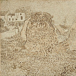 Haystacks, Vincent van Gogh