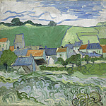 View of Auvers, Vincent van Gogh