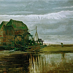 Vincent van Gogh - Watermill at Gennep