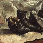 Three Pairs of Shoes, Vincent van Gogh