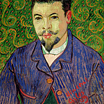Portrait of Doctor Felix Rey, Vincent van Gogh