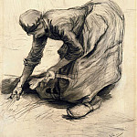 Vincent van Gogh - Peasant Woman Gleaning