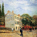 The Rispal Restaurant at Asnieres, Vincent van Gogh