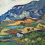 Les Alpilles, Mountain Landscape near Saint-Remy, Vincent van Gogh