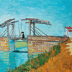 Vincent van Gogh - The Langlois Bridge at Arles
