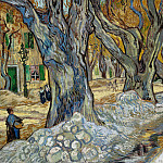 Vincent van Gogh - Large Plane Trees (The Road Menders)