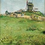 Vincent van Gogh - Le Moulin de la Gallette