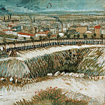 Industrial landscape – on the outskirts of Paris near Montmartre, Vincent van Gogh