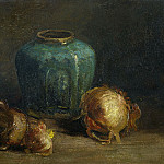 Ginger Pot and Onions, Vincent van Gogh