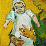 Vincent van Gogh - Madame Roulin and Her Baby