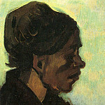 Vincent van Gogh - Head of a Brabant Peasant Woman